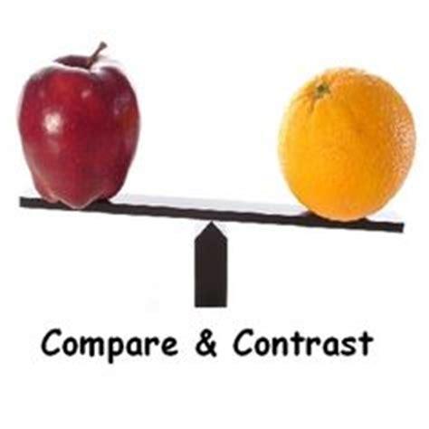 Writing a CompareContrast Essay