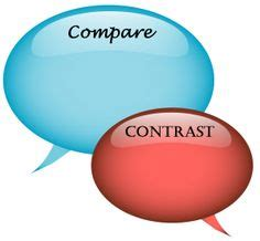 Good things compare contrast essay